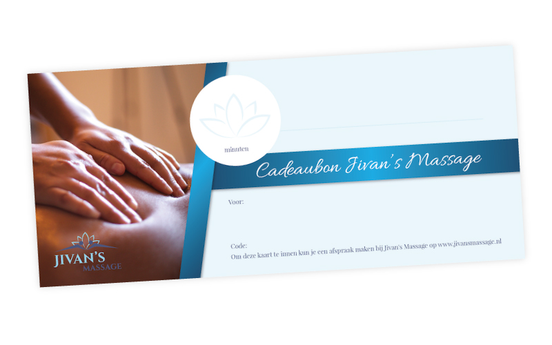 Cadeaubon Jivan's Massage Rotterdam